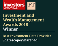 Investors Chronicle award 2018