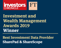Investors Chronicle award 2019