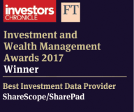 Investors Chronicle award 2017